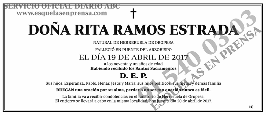 Rita Ramos Estrada